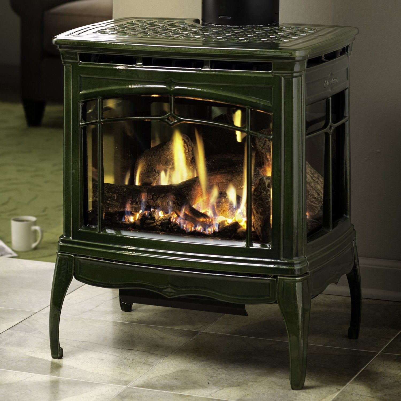 Basil Enamel Gas Stove Gas Fire Stove Gas Stove Fireplace