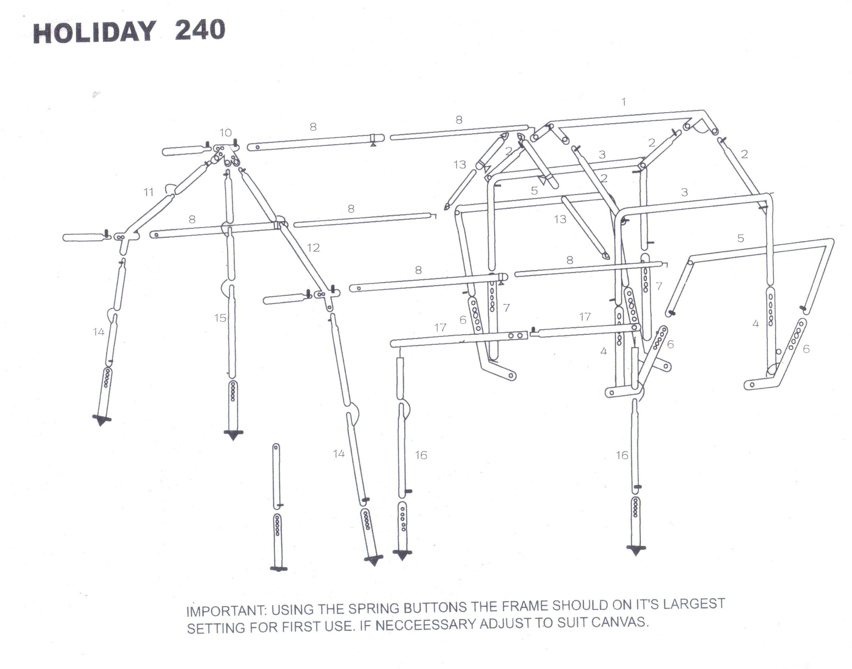 sunncamp-240-trailer-tent-awning-diagram.jpg (2860×2247) | Trailer ...