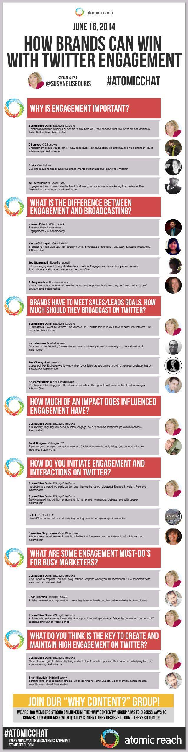 Cómo una marca puede ganar con engagement en Twitter