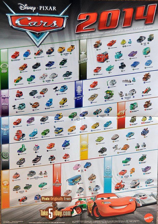Mattel Disney Pixar Cars Takefive Gold Frosty Contest Disney