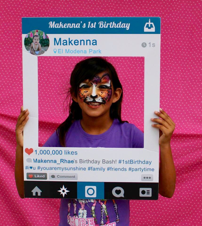 Custom Instagram frames get you or your business noticed. Great for ...