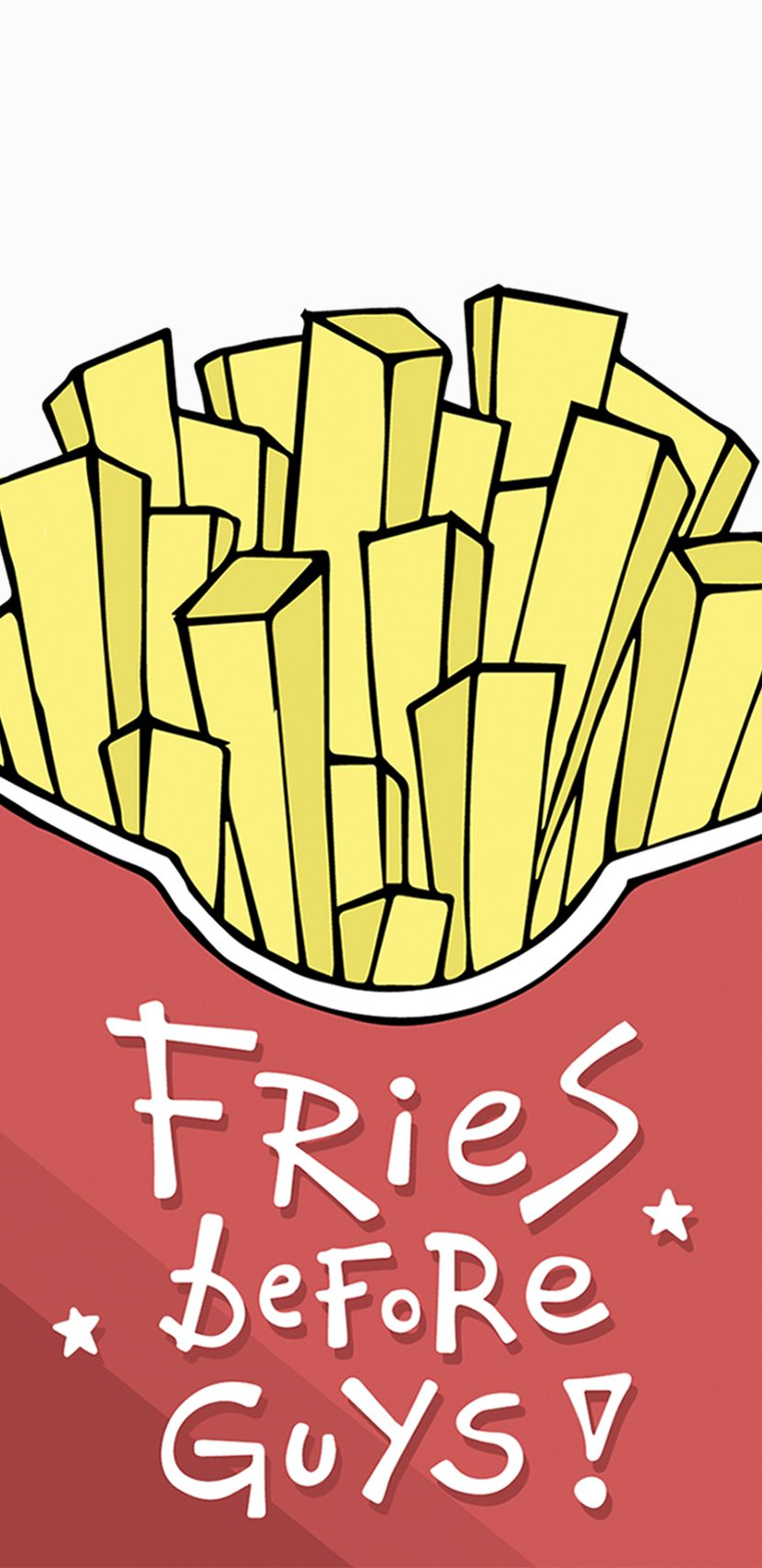 Happy French Fries Day Ipod Wallpaper Cute Wallpapers Pretty Phone Wallpaper