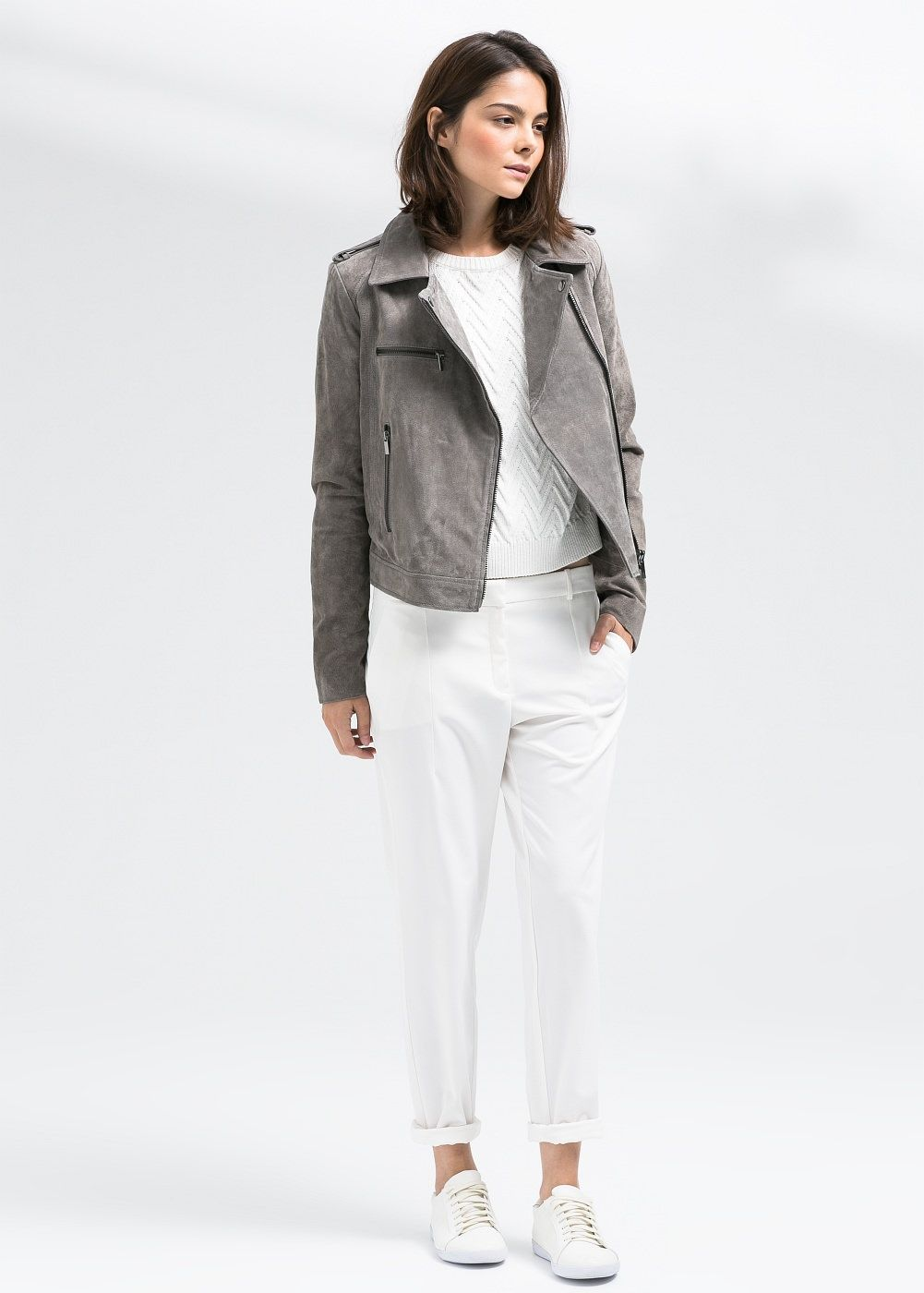 d47c0504811 Peccary biker jacket - Women