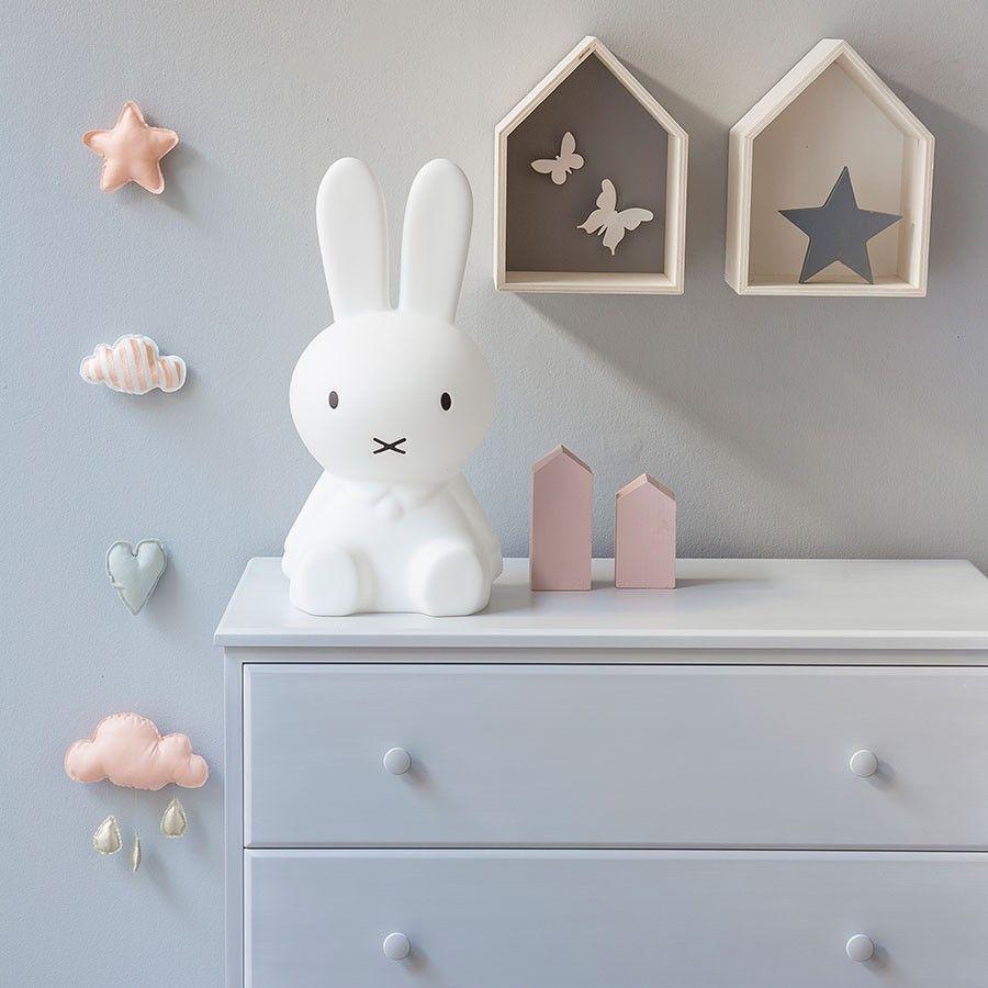 Miffy lámpara | Decoracion cuarto de niño | Baby, Girl room y Girls ...