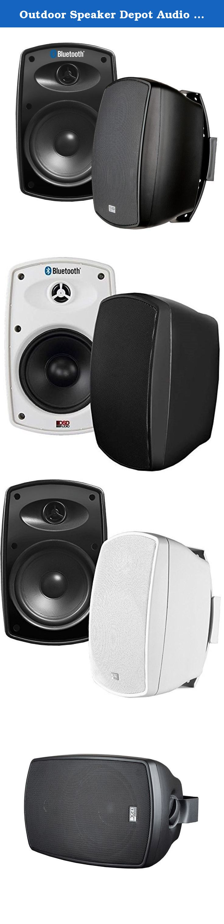 "Outdoor Speaker Depot Audio BTP650 6 5"" 2 Way Indoor Outdoor"