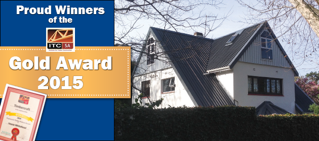 Timbercraft Gold Award Winner 2015 - Timbercraft - Specialists in Timber construction. Roof rooms, loft conversions, extensions, alterations, decks or complete structure.