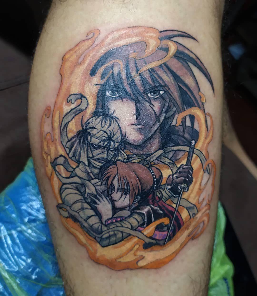 Samurai X Tattoo De Esta Noche Para Mi Bro Claudio Buen Aguante Y Gracias Por L Samurai tattoo by bhanu pratap at aliens tattoo india. mi bro claudio buen aguante