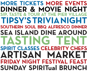 Eil Is Part Of The 2nd Annual Saint Simons Food Spirits Festival October 1 6 2013 And I Can T Wait Event Food St Simons Spirit