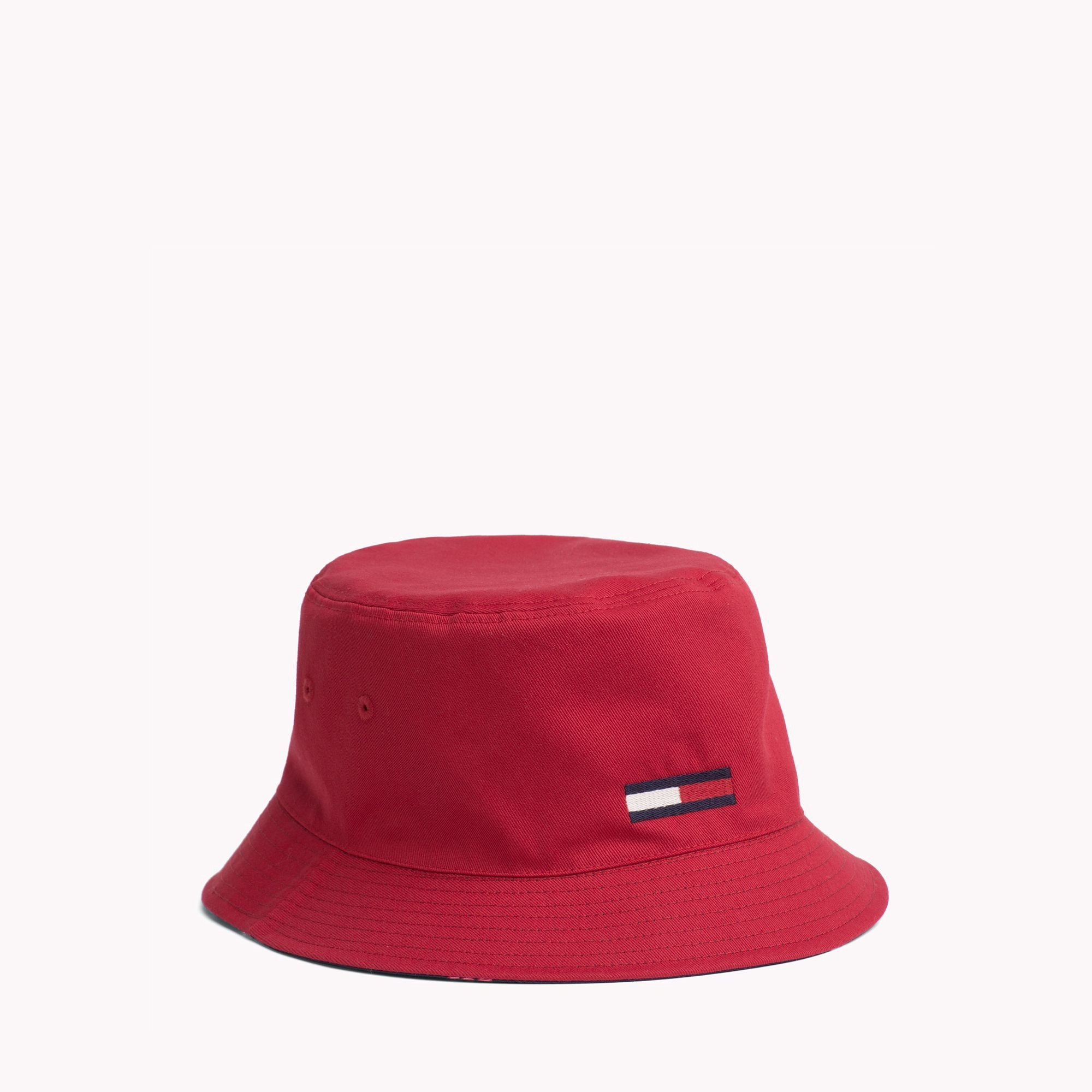 9ccfab5de6e50e Tommy Hilfiger Reversible Bucket Hat - Navy/Red Os | Products in ...