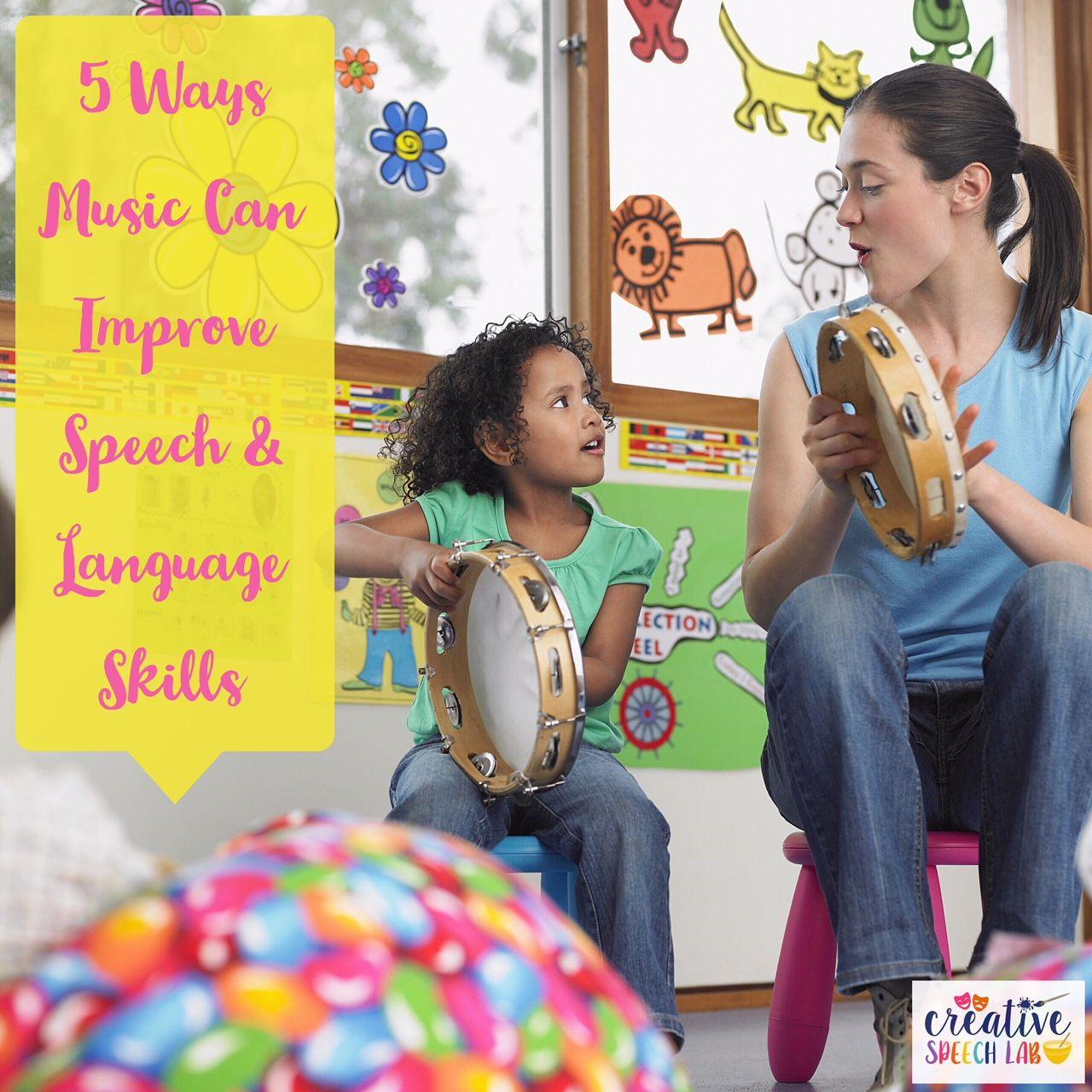 5 Ways Music Can Improve Speech & Language Skills