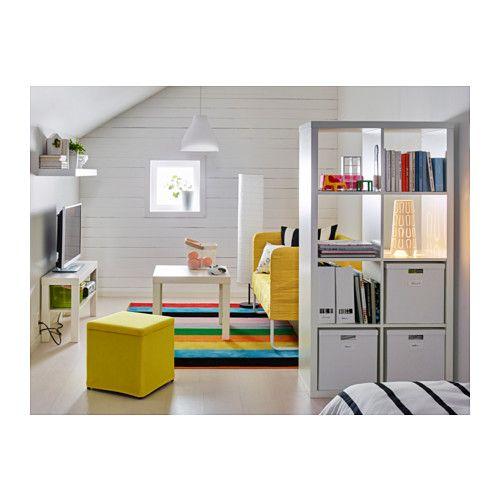 KALLAX Regal - weiß - IKEA dzieci Pinterest Tv bank, Bank - ikea regale kallax einrichtungsideen
