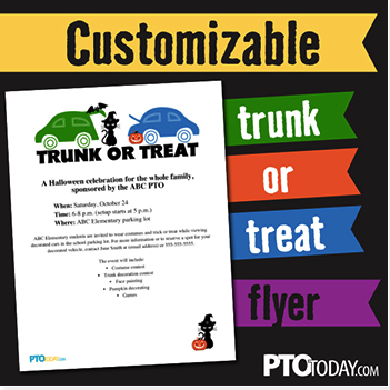 Grab Our Free Customizable Trunk Or Treat Flyer To Help Promote Your