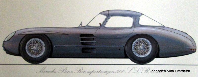 Mercedes Benz 1973 Calendar
