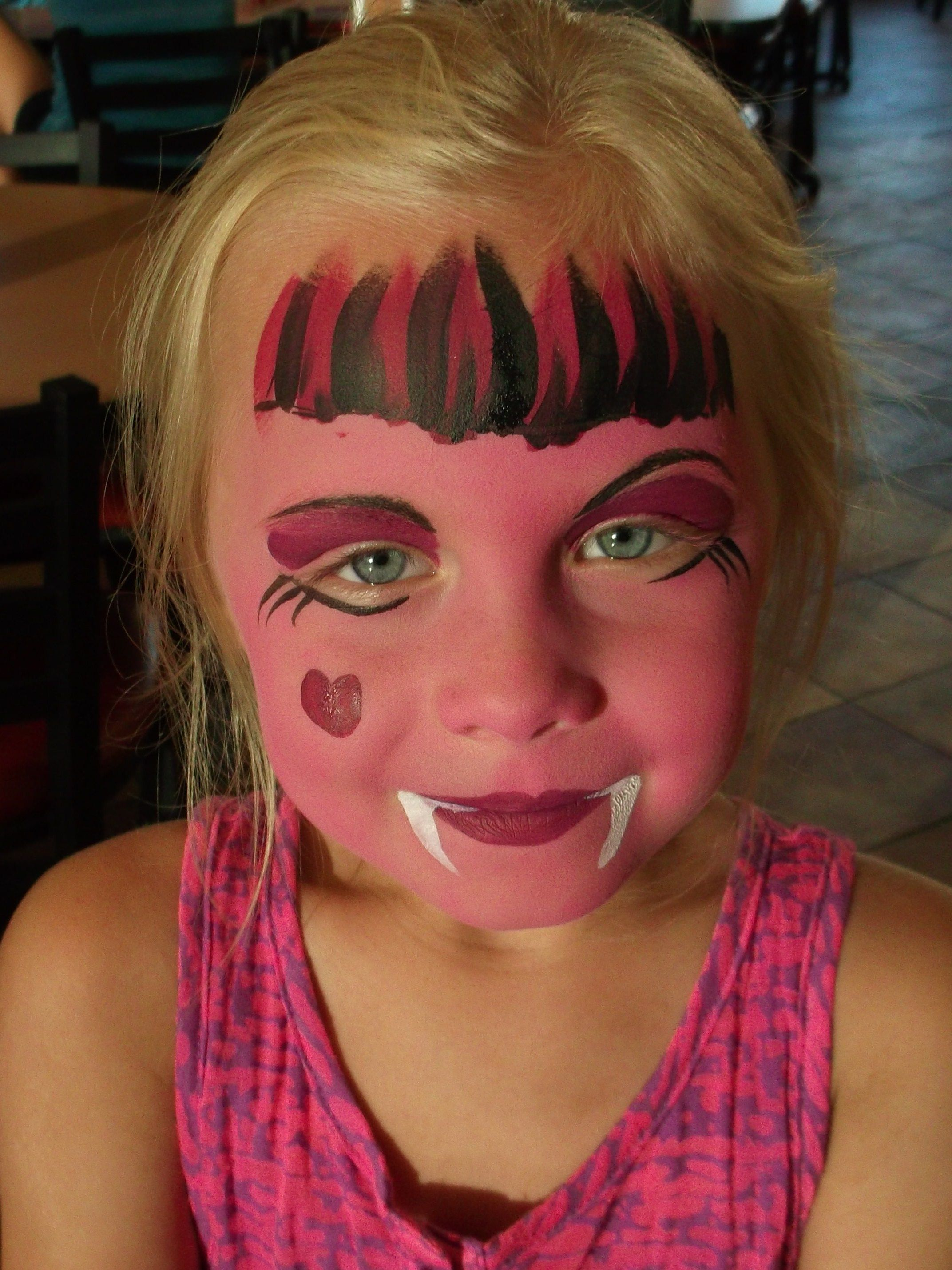 Uncategorized Monster High Paint Colors this is monster high inspired but something like for face paint cute monsters