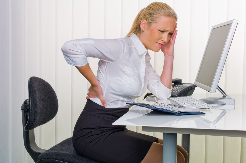 Millions Struggle Working At Desk Jobs Sitting Down All Day Long Can Be A Pain