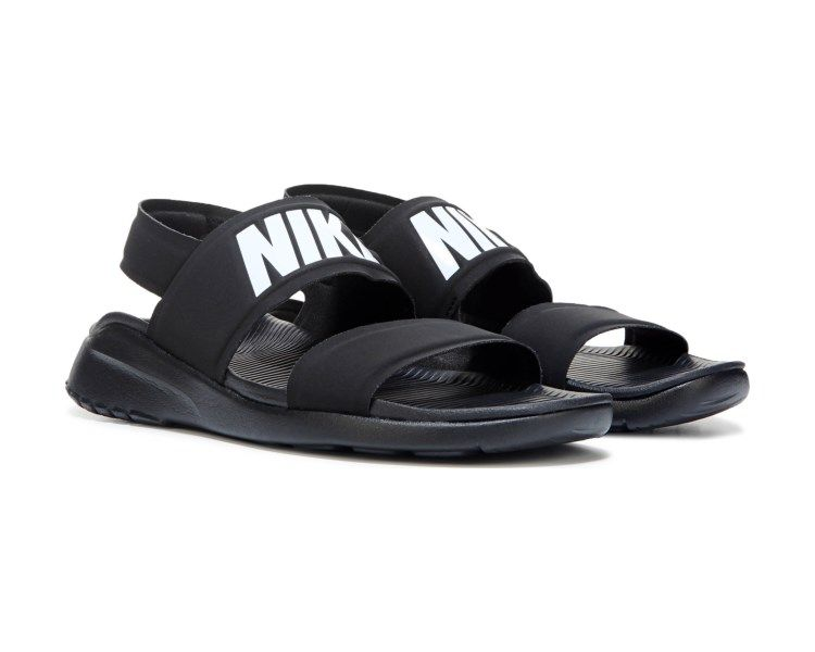 ff061f523a7f Comfort for warmer weather is yours with the Nike Tanjun Sandal.Neoprene  upper in a casual sandal style with an open toeHook and loop closureLogo ...