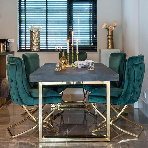 blackbone industrial oak extendable dining table blackbone rh pinterest com