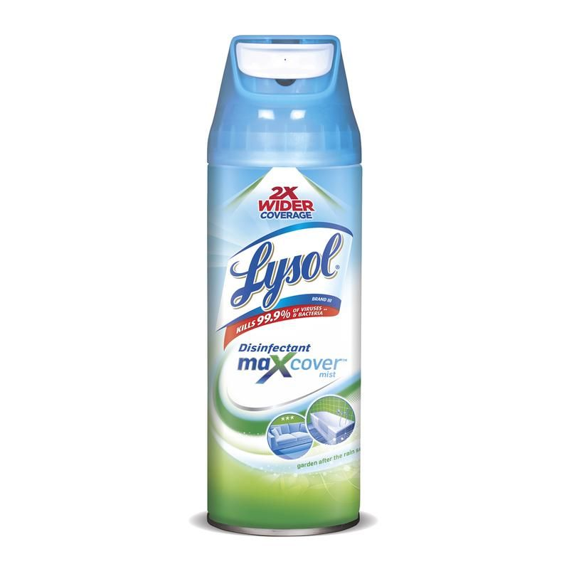 Lysol 1920095590 MaxCover Disinfectant Spray, Garden After