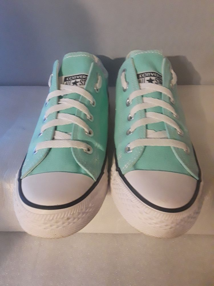 048068c420b Converse All Star Mint Green Canvas Sneakers Womens Size 7.5 Mens 6  fashion   clothing  shoes  accessories  womensshoes  athleticshoes (ebay link)