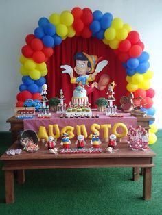 Pinocchio Baby Shower Fiestas Disney Cumpleanos De Gemelos Arreglos Para Fiesta