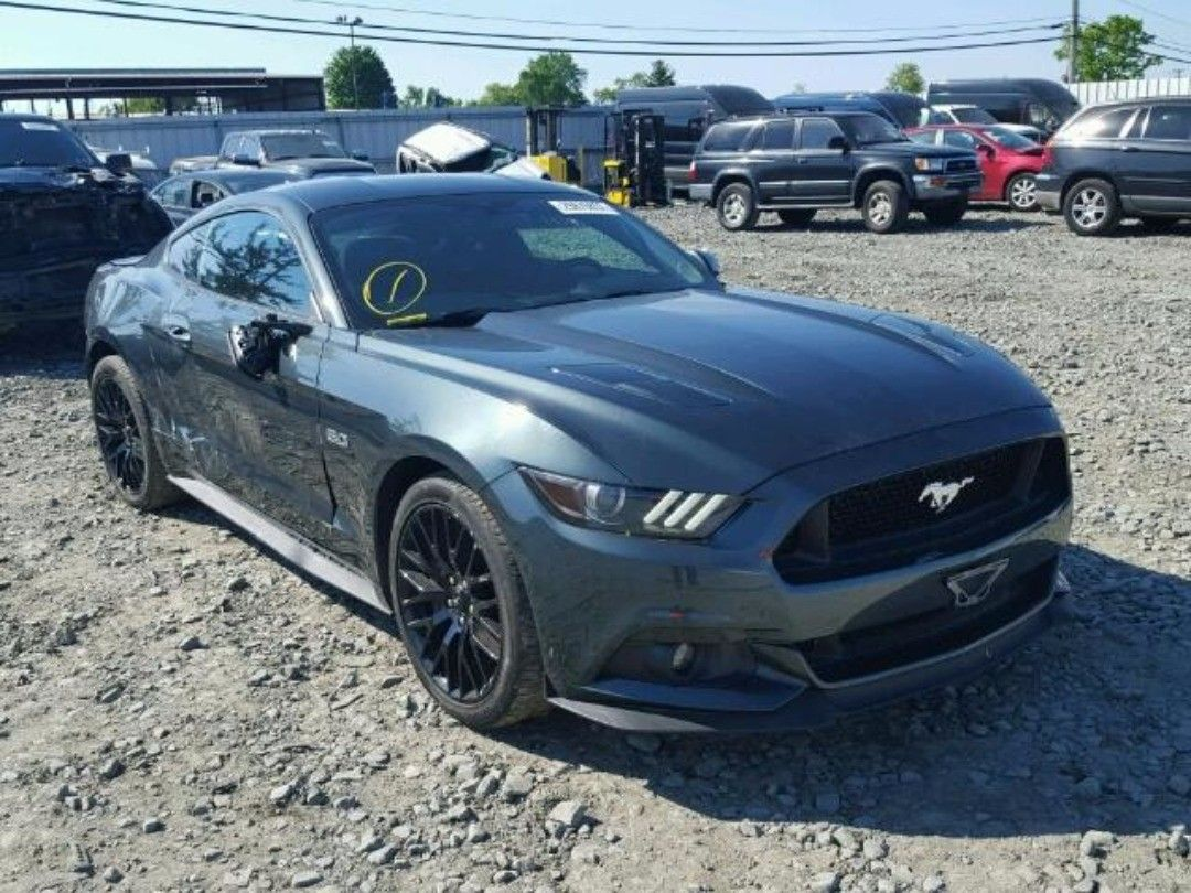 2015 FORD MUSTANG GT salvageauction autoauction http