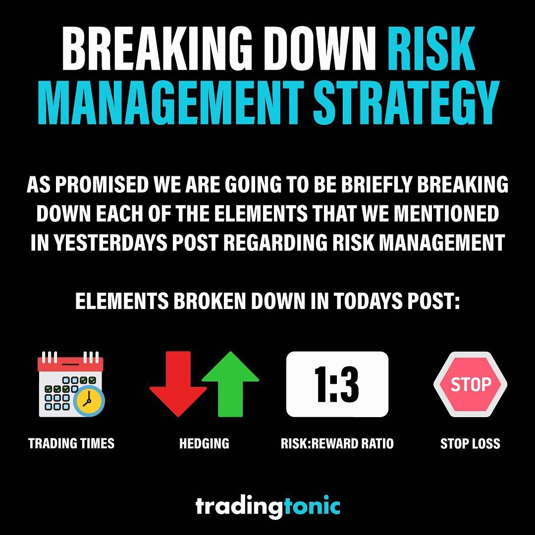 Yesterdays Post Gave A Brief Outline Of What Goes Into A Risk