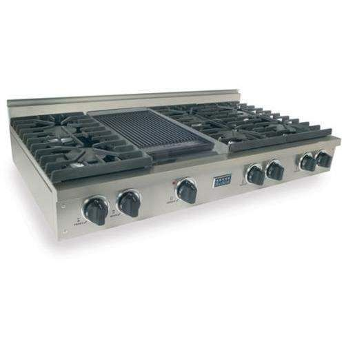 Kitchenaid 6 Burner Gas Cooktop kitchenaid® 36'' 5-burner gas cooktop with griddle (kcgs956ess
