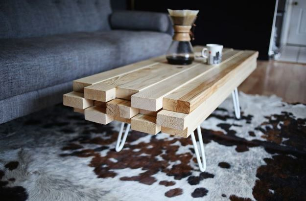 Diy Meuble 5 Tables Basses Originales A Fabriquer Fabriquer Une Table Basse Table Basse Bois Table Basse
