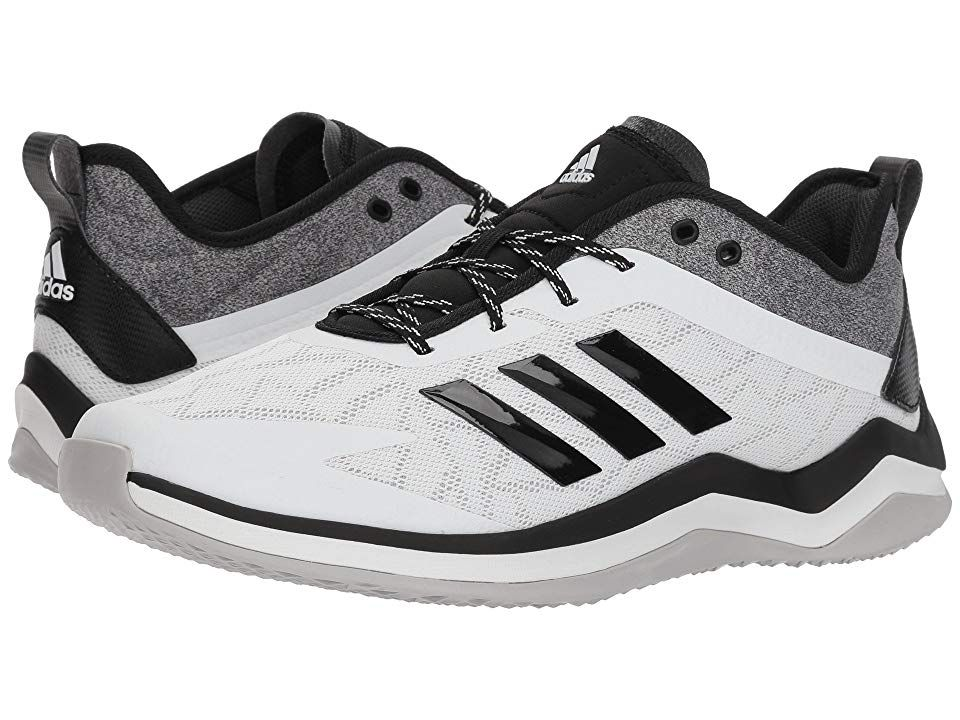 adidas Speed Trainer 4 (White Black Carbon) Men s Cross Training Shoes. 40ebe44f6