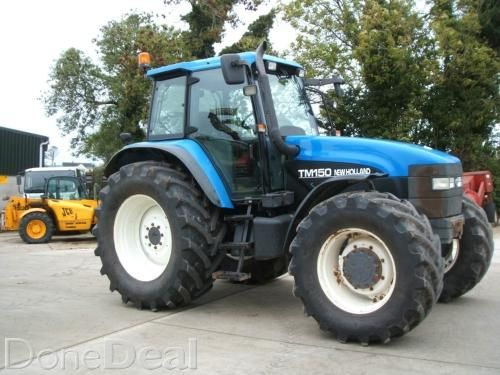 2001 New Holland Tm150 Rc For Sale In Tyrone 16 750 Donedeal