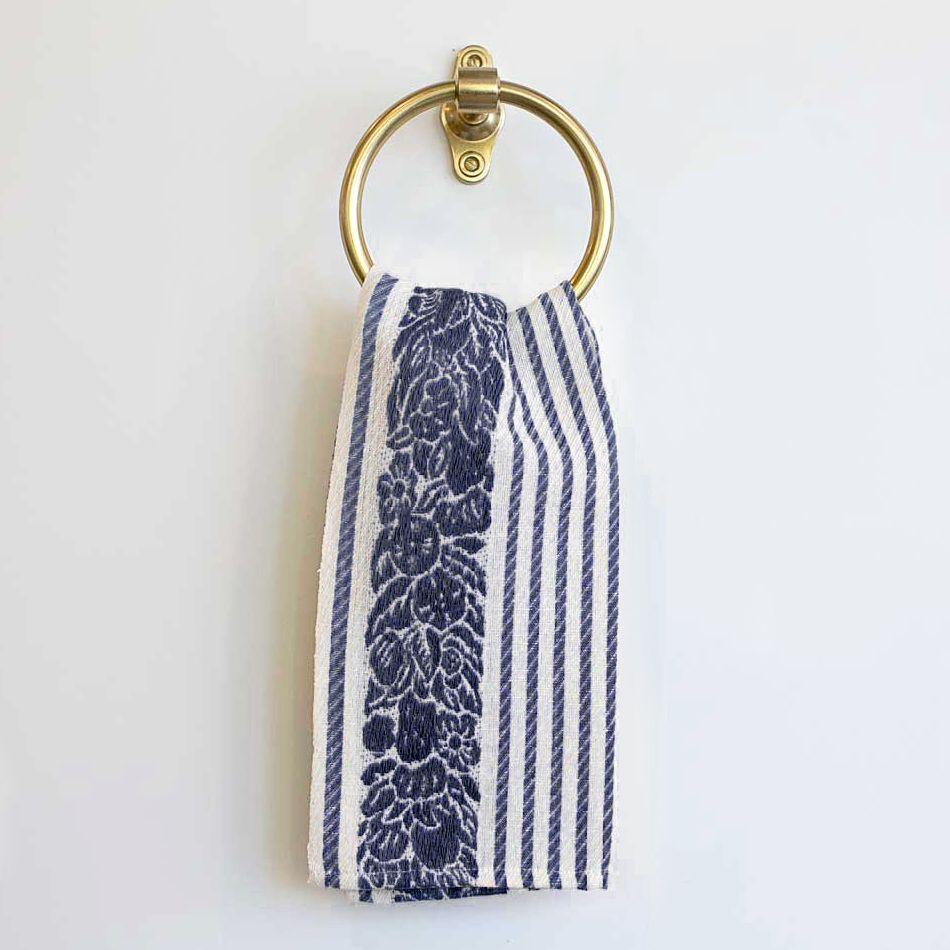 Layla Grayce Luciana Navy Kitchen Towel LGLUCKTNV #laylagrayce