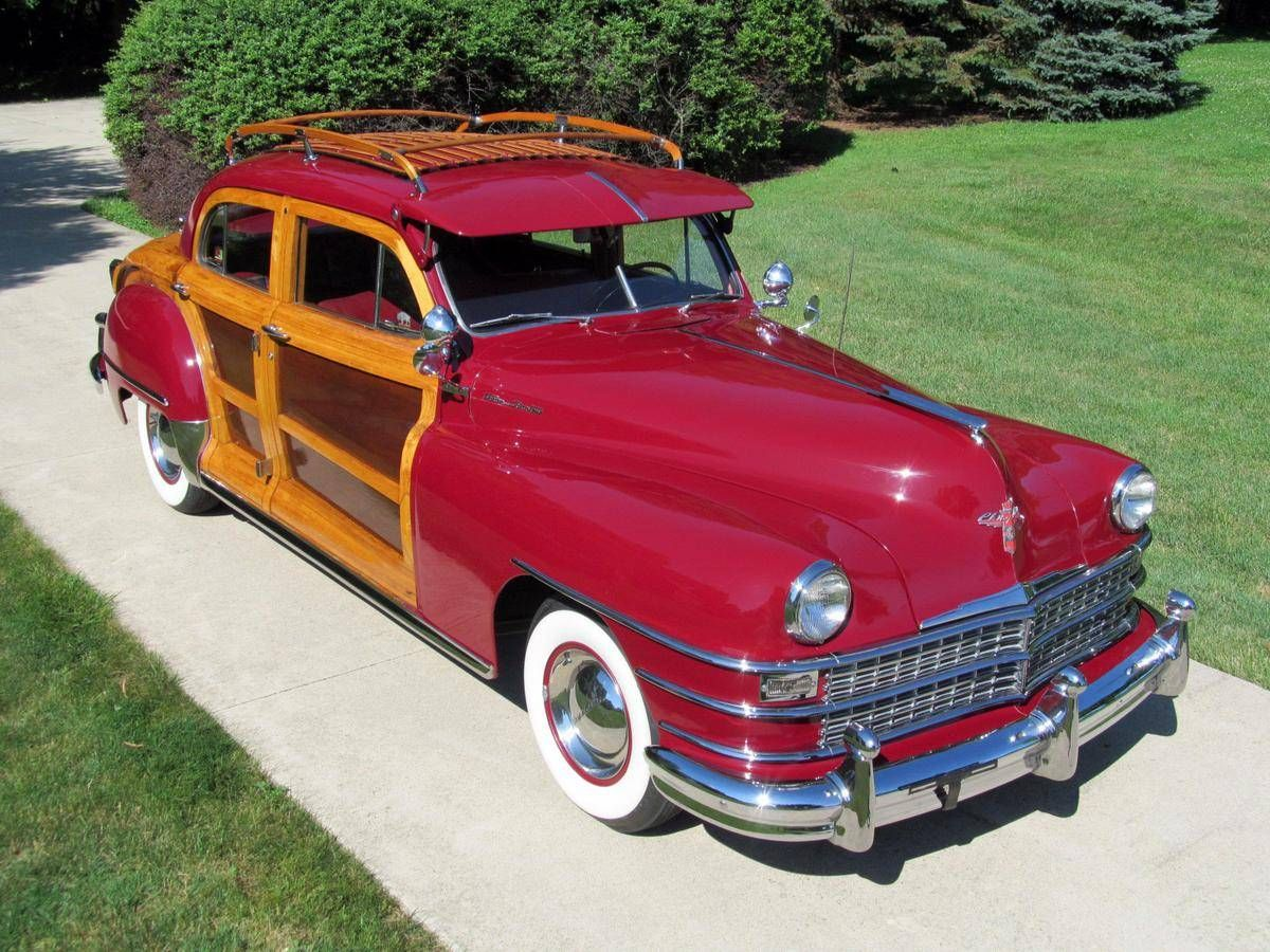 1947 Chrysler Town Country Sedan Woodie Woody Brought To You By