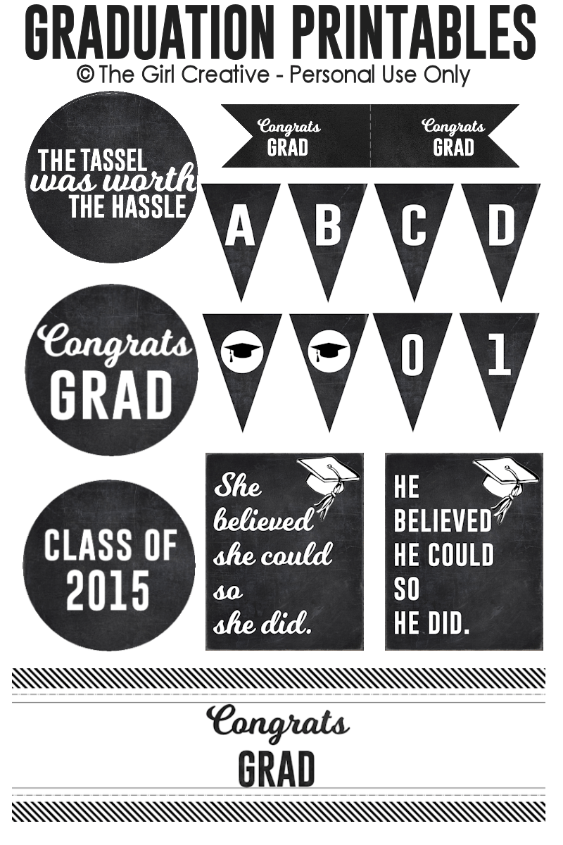 photograph about Free Graduation Printable identified as Commencement Printables Least complicated of Pinterest Commencement do it yourself