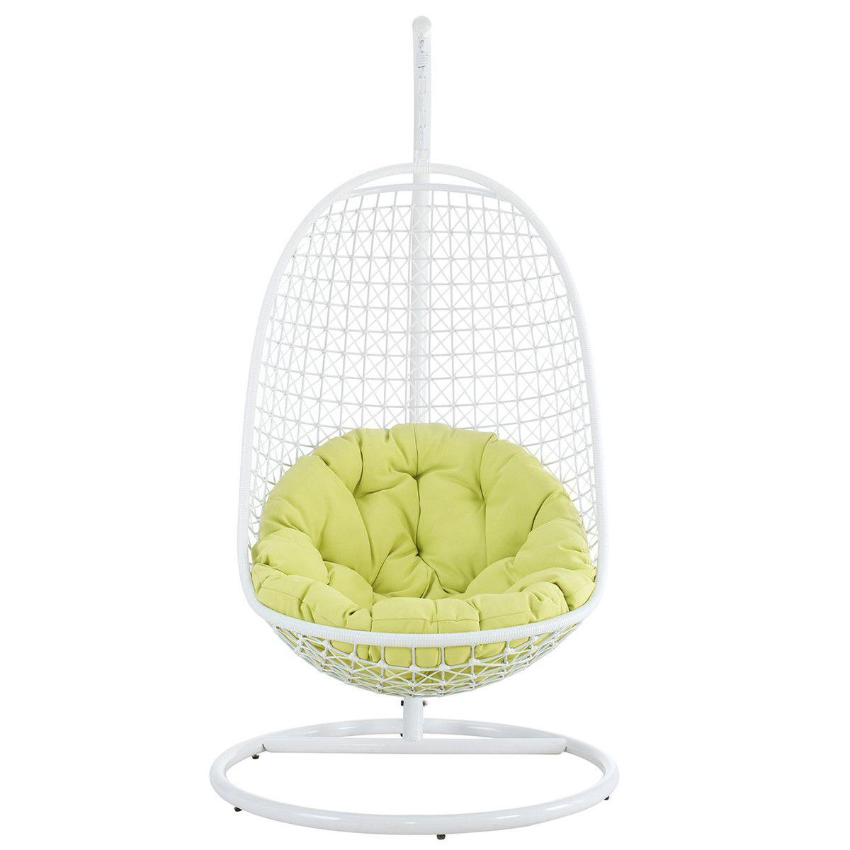 Fab encounter wicker swing chair sit stay luv pinterest