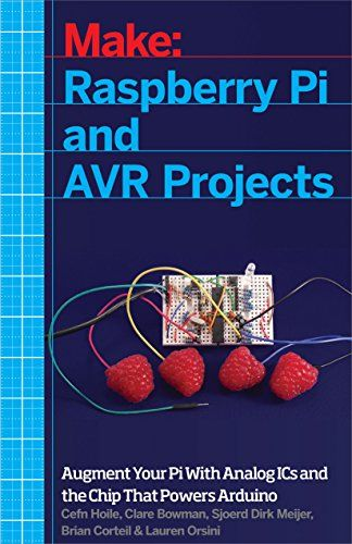 Raspberry Pi and AVR Projects: Augmenting the Pi's ARM with the Atmel ATmega, ICs, and Sensors (Make) by Cefn Hoile http://www.amazon.com/dp/1457186241/ref=cm_sw_r_pi_dp_HrDwwb18W3VHF