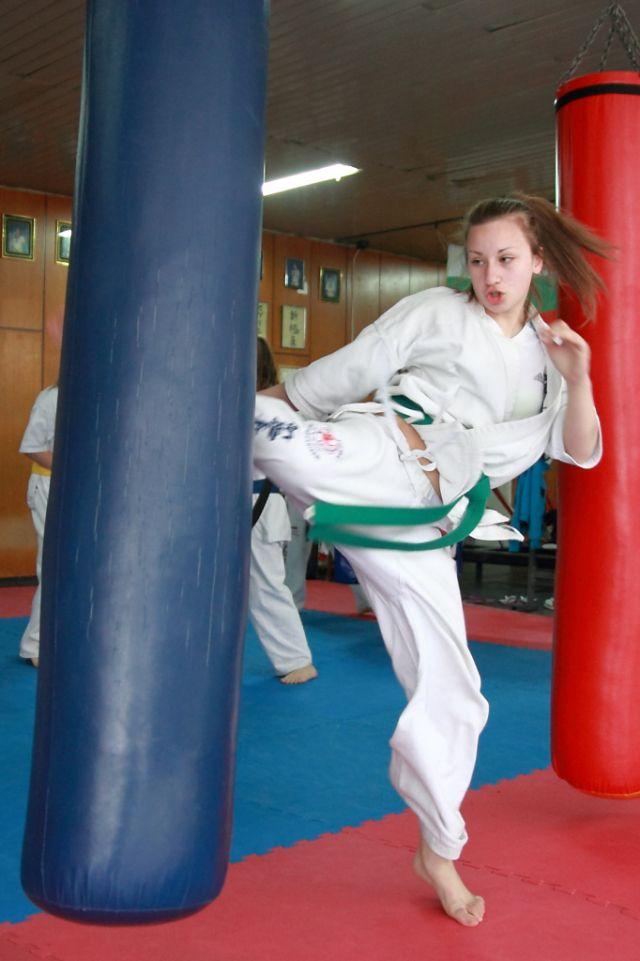 Bulgarian Karate Girls Martial Arts Girl Karate Girl Female Martial Artists