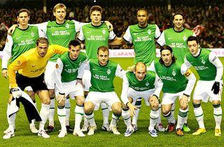Equipos de fútbol: WERDER BREMEN contra Athletic Bilbao 16/12/2009