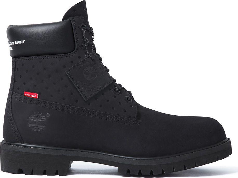 68cabadec90 Comme des Garçons SHIRT x Supreme x Timberland 6-Inch Premium Waterproof  Boot - EU Kicks  Sneaker Magazine