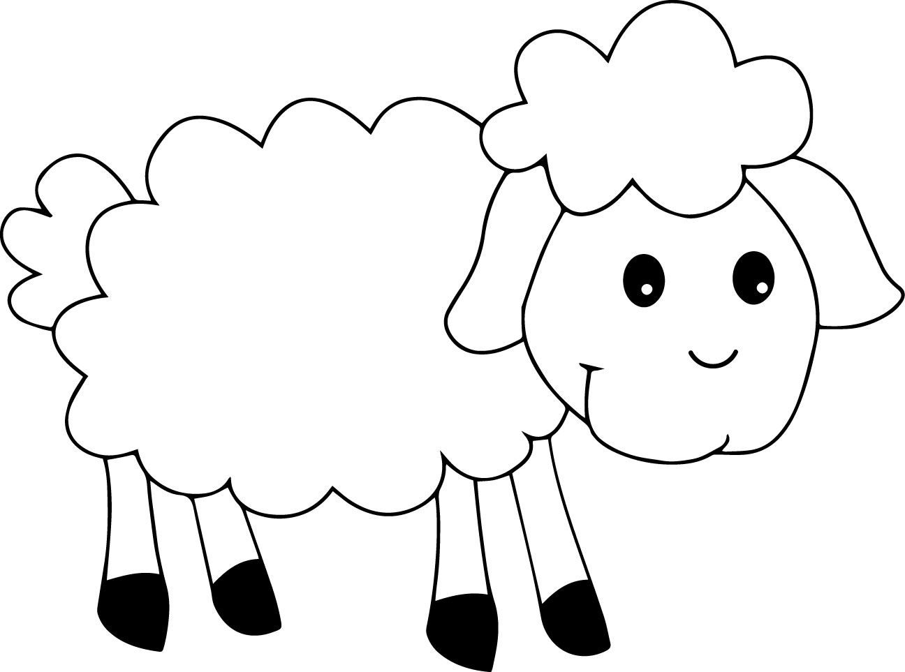 49++ Cute lamb coloring pages info