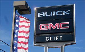 Clift Buick GMC. Only the best GMC dealer around!