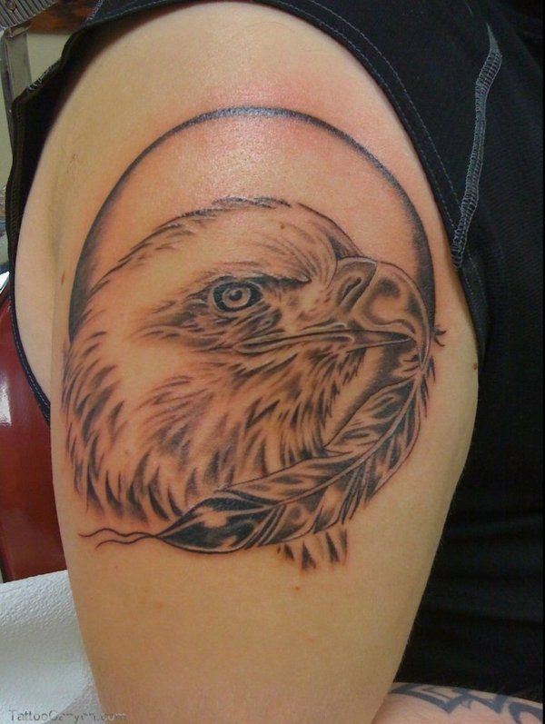Eagle Tattoos For Shoulder Tattoos For Women On Thigh