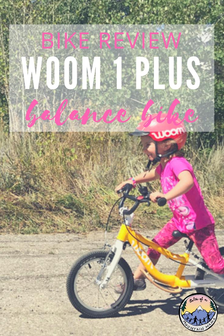 Woom 1 Plus Review Balance Bike Bike Reviews Bike