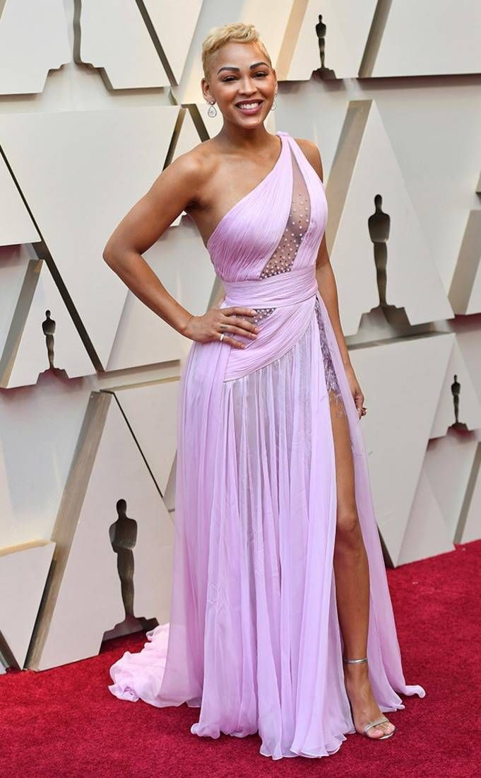 Meagan Good from 2019 Oscars Red Carpet Fashion