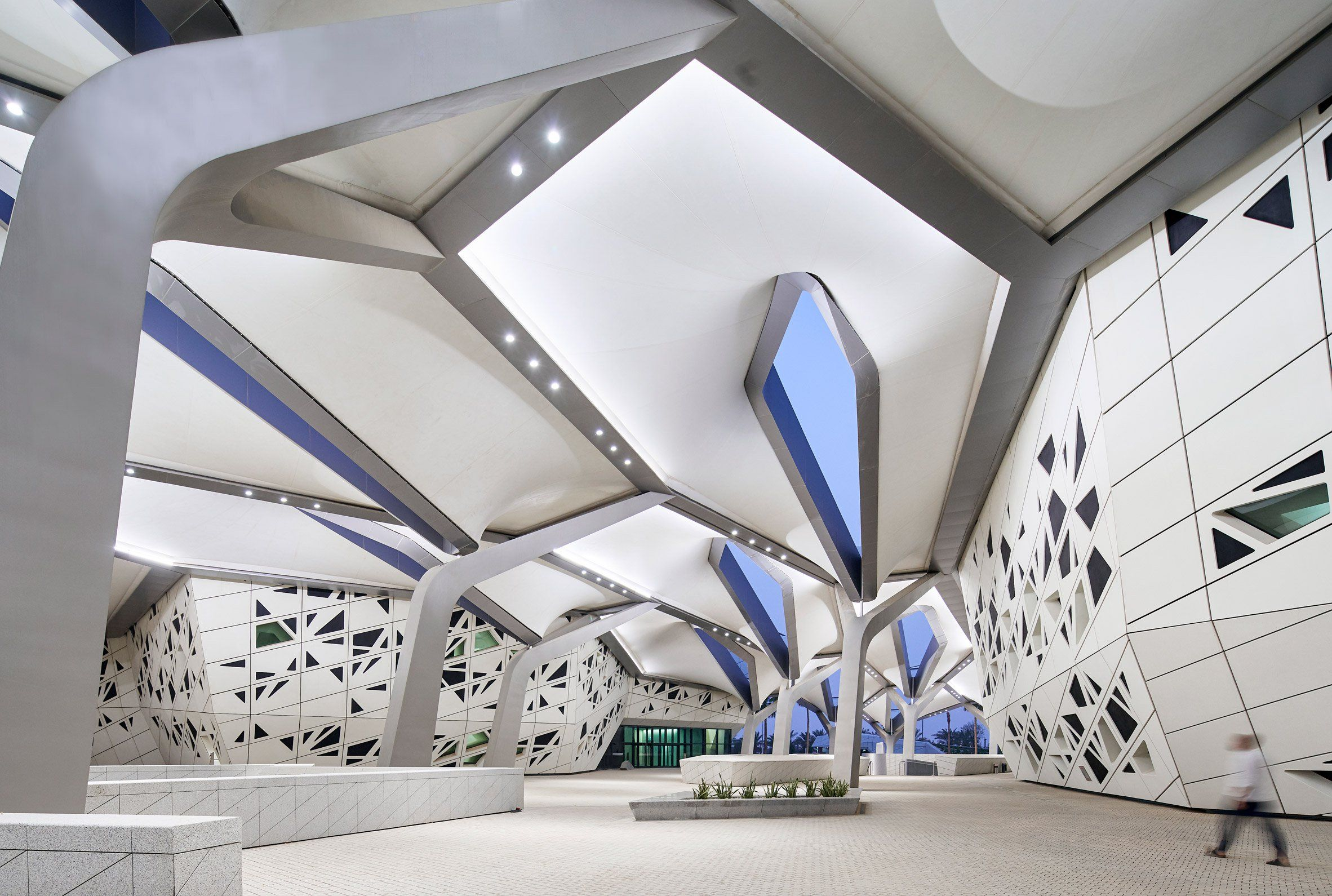 Zaha Hadid Architects's research centre in Riyadh