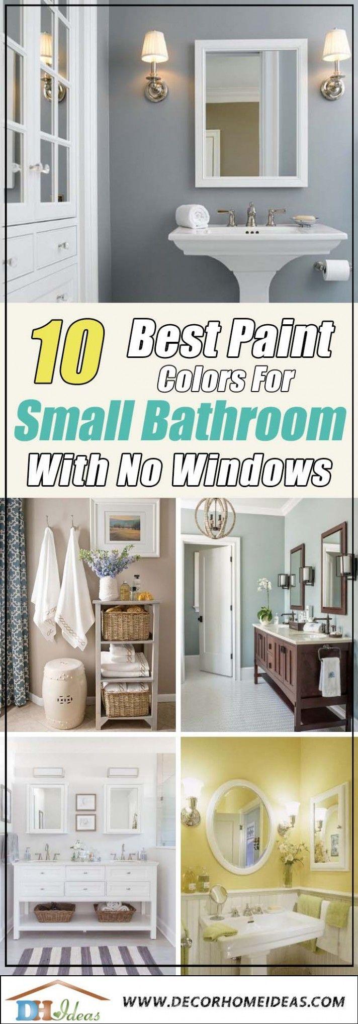 Bathroom Color Ideas No Window Bathroom Color Ideas Window In 2020 Best Bathroom Colors Small Bathroom Colors Small Bathroom Paint Colors