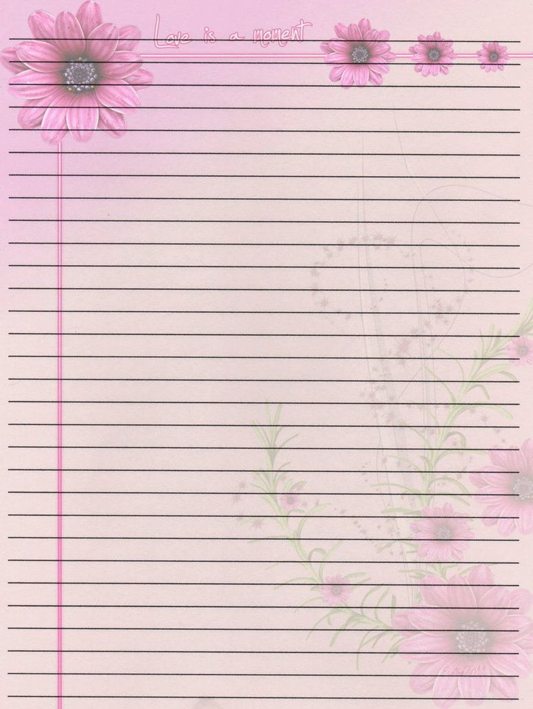 Summer Stationery Paper   Google Search  Note Paper Template For Word