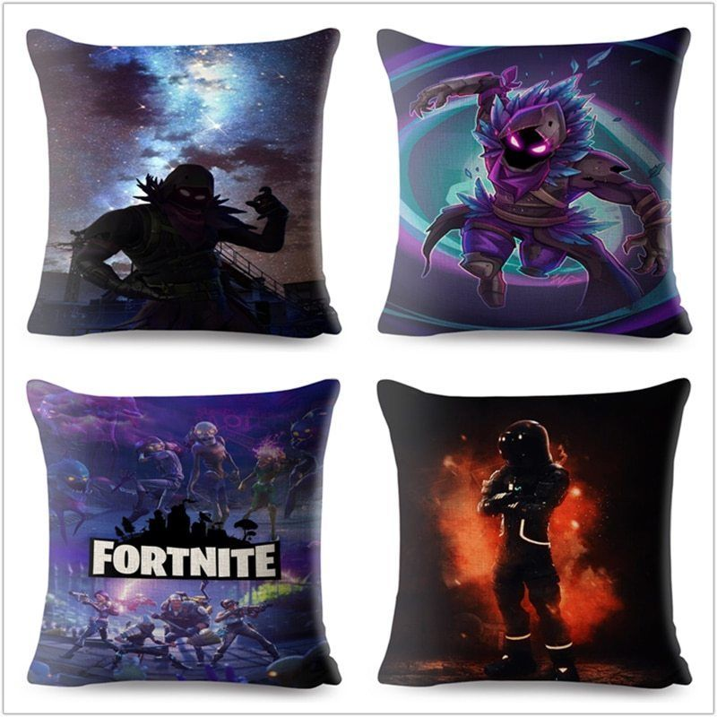 Fortnite 3d battleroyale game decorative cushion cover
