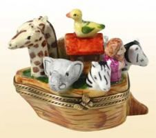 LIMOGES BOXES Direct from Limoges France with FREE SHIPPING ! #1 Limoges Boxes collectors website - Noah's ark 2 Limoges box