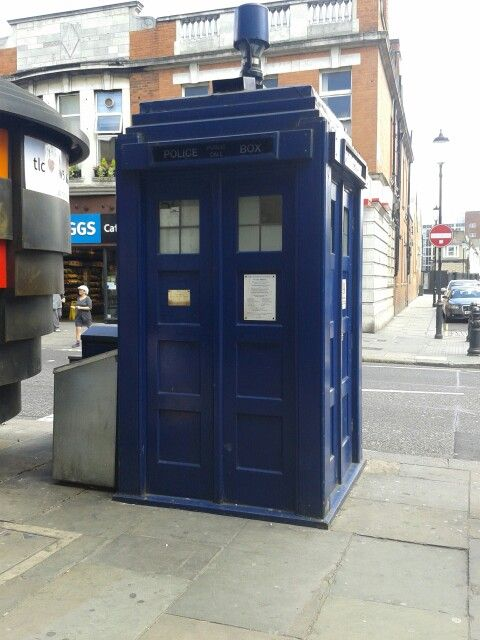 The Real Tardis In London Doctor Who Locker Storage