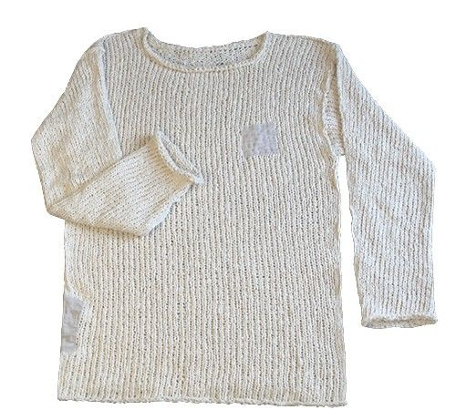 Knit Sweater made of Organic Cotton by cocooncocoon on Etsy, $89.00